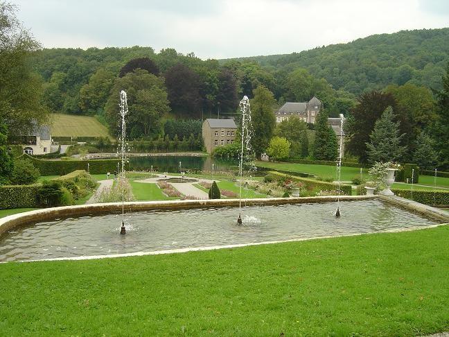 jardins annevoie cascades fontaines