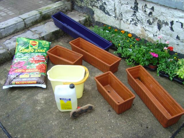 jardinières et façade fleurie: mode d'emploi